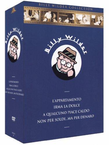 Billy Wilder - L'appartamento + Irma la dolce + A qualcuno piace caldo + Non per soldi... ma per denaro [4 DVDs] [IT Import]