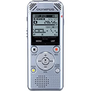 Olympus WS-801 Voice Recorder (Silver) (Discontinued by Manufacturer)