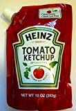 Heinz Tomato Ketchup - Squeezable Dispenser - (3 Pack) 10oz Pouches