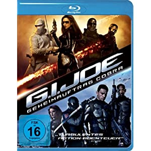 G.I. Joe - Geheimauftrag Cobra [Blu-ray] [Import allemand]