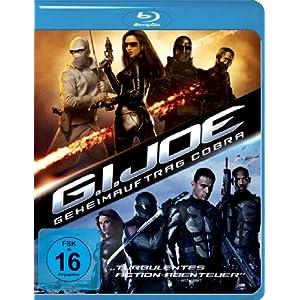 G.I. Joe - Geheimauftrag Cobra [Blu-ray] [Import allemand]