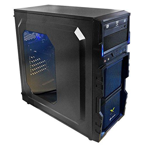 nexths mx-spike01PC de Gaming, procesador Intel I5-6400, 8GB RAM, HDD de 1TB, tarjeta gráfica NVIDIA GeForce GTX 1060de 6GB