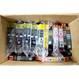 Logic-Seek LS-PGI525/526-20X - Cartucho de tinta multicolor (Paquete de 20 )