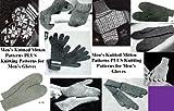 Hommes de tricot mitaine modèles et patrons de tricot pour gants hommes...