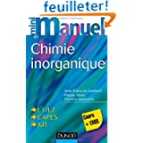 Mini manuel de Chimie inorganique