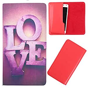 DooDa - For Spice Stellar 449 3G PU Leather Designer Fashionable Fancy Case Cover Pouch With Smooth Inner Velvet