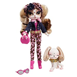 Pinkie Cooper Deluxe Travel Collection Doll & Pet - Beverly Hills