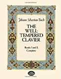 The Well-Tempered Clavier: Books I and II, Complete (Dover Music for Piano) (0486245322) by Bach, Johann Sebastian