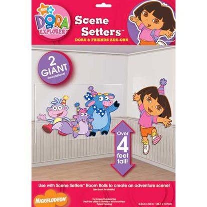 Dora And Friends 50In Scene Setter Add-Ons 2Ct front-1031827
