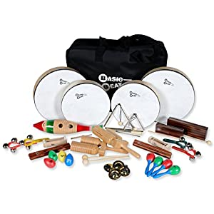 Basic Beat 25-Player Rhythm Instrument Set With Bag