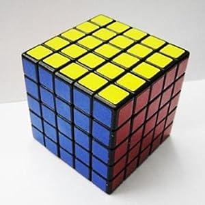 shengshou 5x5 speed cube black toys games. Black Bedroom Furniture Sets. Home Design Ideas