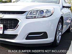 front bumper fog light insert chrome trim. Black Bedroom Furniture Sets. Home Design Ideas