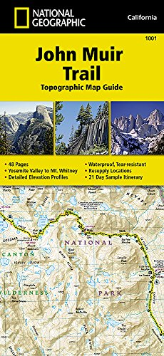 Free EBook John Muir Trail Topographic Map Guide National - Trails illustrated maps