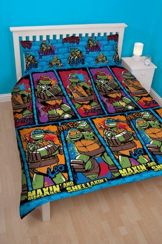 Tmnt Urban Double Rotary Duvet Set front-1024989