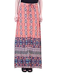 Oxolloxo Women printed long skirt