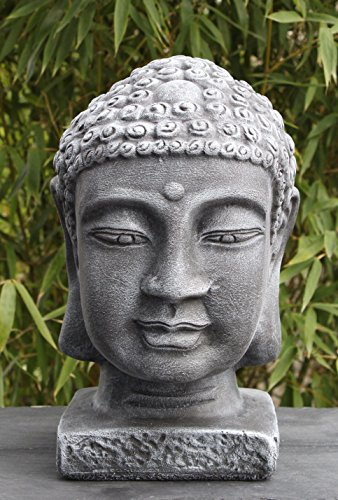 steinfigur buddha figur skulptur garten deko koi teich gartenfiguren steingusssteinfigur buddha. Black Bedroom Furniture Sets. Home Design Ideas