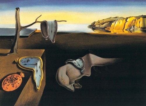 La Persistance De La Mémoire De Salvador Dali
