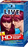 Live Color XXL dauerhafte Coloration, 86 Pure Purple, 2er Pack (2 x 143 ml)