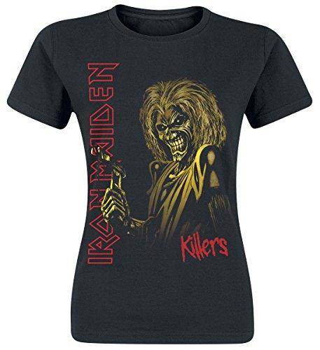 Iron Maiden Killers Maglia donna nero M