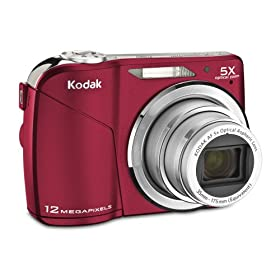 Kodak EasyShare C190 Digital Camera (Red)