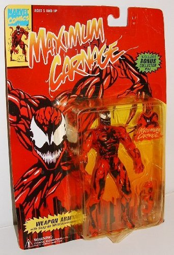 Spider-man Maximum Carnage with bonus collector pin