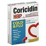 Coricidin HBP Cold & Flu, Tablets, 20 tablets