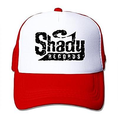 Eminem Slim Shady Fitted Hats Vintage Snapbacks Red