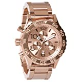 Nixon The 42-20 Chrono Watch One Size Rose Gold