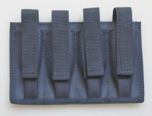 Quad Magazine Pouch Colt 45 & Similar 1911 Style Single Stacked 7-9 Rounds (Quad 1911 Magazine Pouch compare prices)