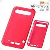 レイ・アウト au by KDDI ARROWS Z ISW11F用ソフトジャケット/ライブピンク RT-ISW11FC7/WR