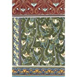 Snowdrops wallpaper, by Eugene Samuel Grasset (Print On Demand)