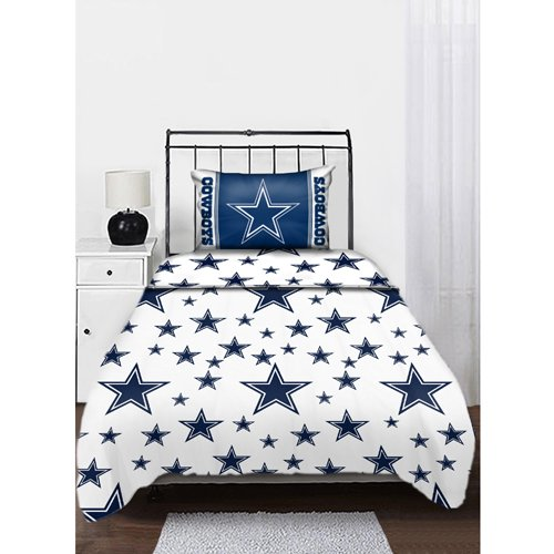 Nfl Sheet Set Nfl Team: Dallas Cowboys, Size: Twin front-15139