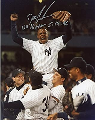 Doc Gooden New York Yankees Autographed 8'' x 10'' Shoulders Photograph with No Hitter 5-14-96 Inscription - Fanatics Authentic Certified