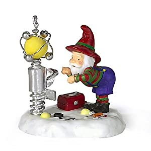 Department 56 North Pole Series Sparky the Plant Manager