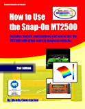 How to Use the Snap-On MT2500 (Automotive Equipment Book Series)