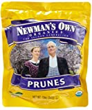 Newman's Own Organics California Prunes, 12-Ounce Pouches (Pack of 6)