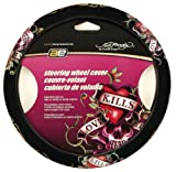 "Ed Hardy ""Love Kills"" Steering Wheel Cover"