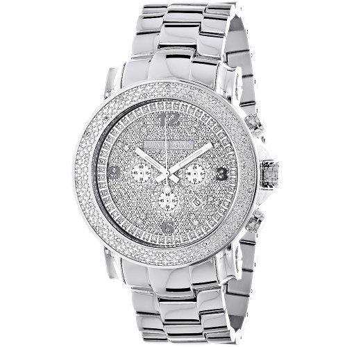 LUXURMAN - Reloj de pulsera hombre, acero inoxidable