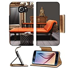 buy Msd Samsung Galaxy S6 Flip Pu Leather Wallet Case Vintage Furnitures Decorated In Living Room Image 23879413