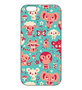 Happoz Apple Iphone 6 / 6s Cases Back Cover Mobile Pouches Patterns Floral Flowers Premium Printed Designer Cartoon Girl 3D Funky Shell Hard Plastic Graphic Armour Fancy Slim Graffiti Imported Cute Colurful Stylish Boys Z002