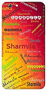 Sharmila (Shy) Name & Sign Printed All over customize & Personalized!! Protective back cover for your Smart Phone : Apple iPhone 7