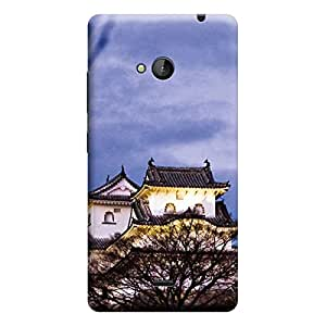 Ebby Premium Printed Back Case Cover With Full protection For Nokia Lumia 535 (Designer Case)