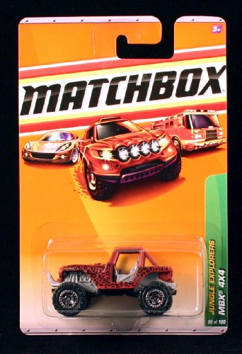 Mbx 4X4 Jungle Explorers Series (#5 Of 6) Matchbox 2010 Basic Die-Cast Vehicle (#99 Of 100) front-627084