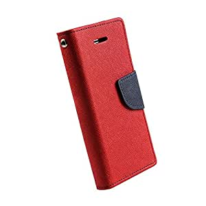 Kerbs fancy flip diary/case/cover for mercury for Asus Zenfone Go 5.0' red