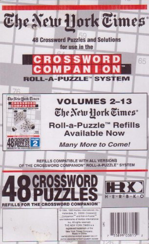 The New York Times: Crossword Companion Roll-A-Puzzle Refills Volume 12 - 1