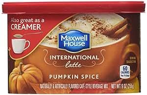 Maxwell House International Pumpkin Spice Latte (9 oz) 2 Pack