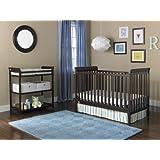 Fisher-Price 6 Piece Nursery Furniture Bundle, Espresso
