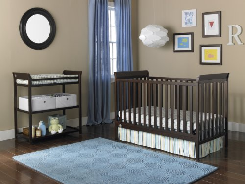 Fisher-Price 6 Piece Nursery Furniture Bundle, Espresso