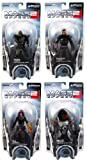 Mass Effect Series 1 Action Figure Set Of 4