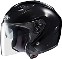 HJC Helmets IS-33 Helmet (Black, Medium) from HJC Helmets